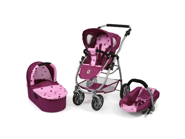 Kombi Emotion All-in-One pink Sterne