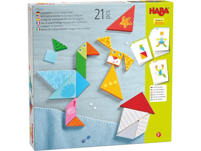 Legespiel Bunter Tangram-Mix