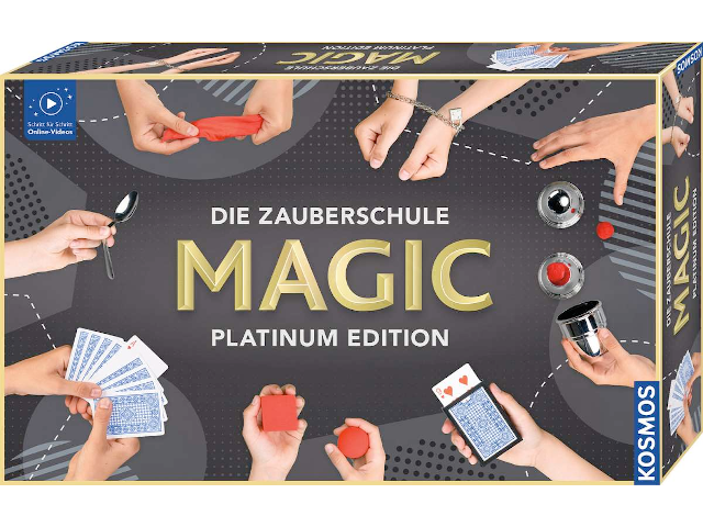 MAGIC Platinum Edition 8+