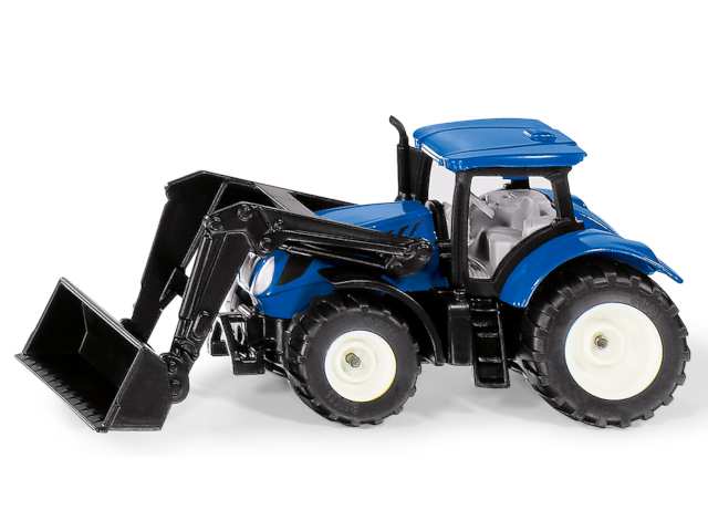 New Holland mit Frontlad