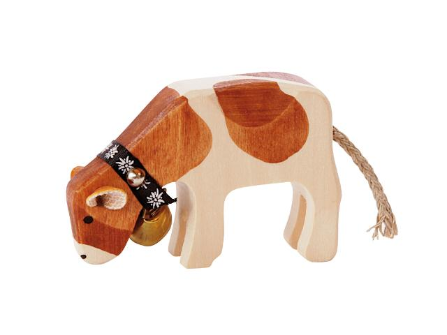 Kalb fressend Red-Holstein