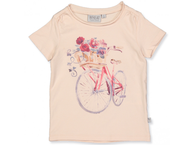 Bio T-Shirt Flower Bike Gr. 128